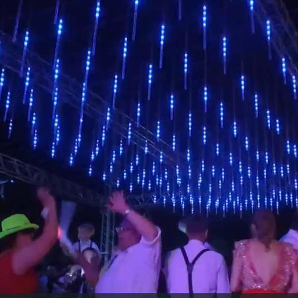 3d 튜브 dj 클럽 파티 무대 조명/dj 튜브 라이트
