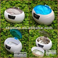 Free shipping JP-880 ultrasonic cleaner dental care for denture bath Ultrasonic Cleaner, Mini Portable
