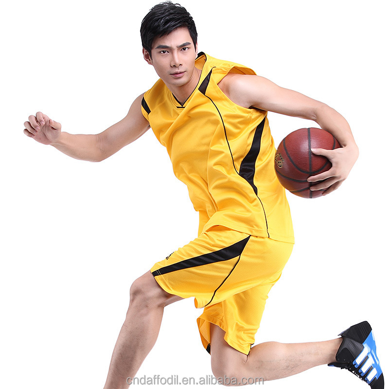 2016 China manufacturers custom best basketball uniform design for men