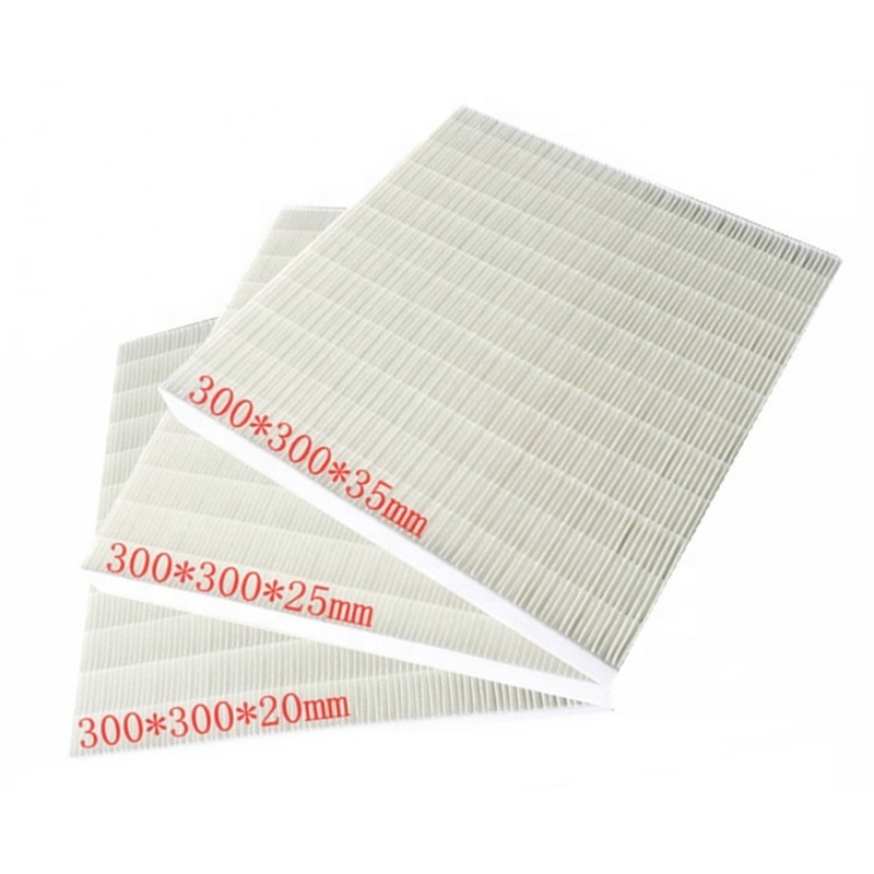 F5 F6 F7 F8 F9 แก้วไฟเบอร์ Mini Pleat Hvac Hepa Air Filter