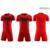 Latest new model breathable football training suit uniform soccer jersey kit