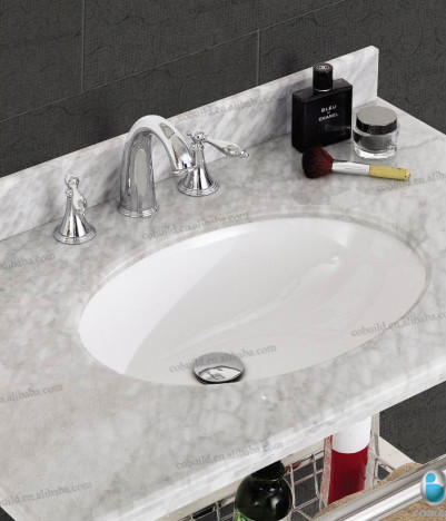 K 7004 Polished Italian Bathroom Vanity, Modern Stainless Steel Frame Bathroom  Vanity, Stainless
