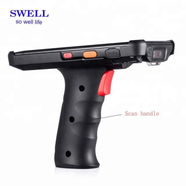 Swell V710 mobile phone handheld leitor rfid uhf anexado android 7.0