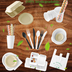 compostable sugarcane bagasse product 100 biodegradable disposable tableware