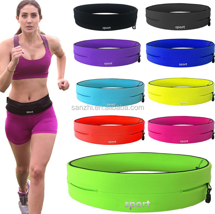 Travel Unisex Fanny Pack Sport Cycling Sport Waist Purse Belt Hiking Hip Bum Bag
