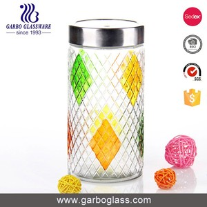 Classical discount glass jars glass jars india