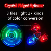 Newest Classic luminous to enjoy high anti stress spinner Fingertip gyroscope for Colorful color