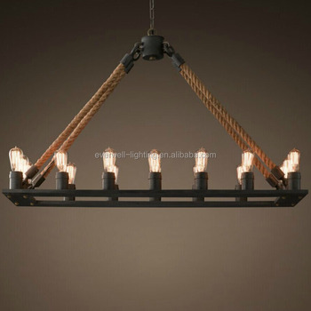 Pendant Chandelier Modern Lighting Black Hanging Pendants Rustic Gym Light 100w