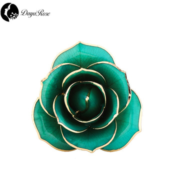 Factory Direct Sale Daya 24k Gold Rose Flower Jewelry Gifts Buy