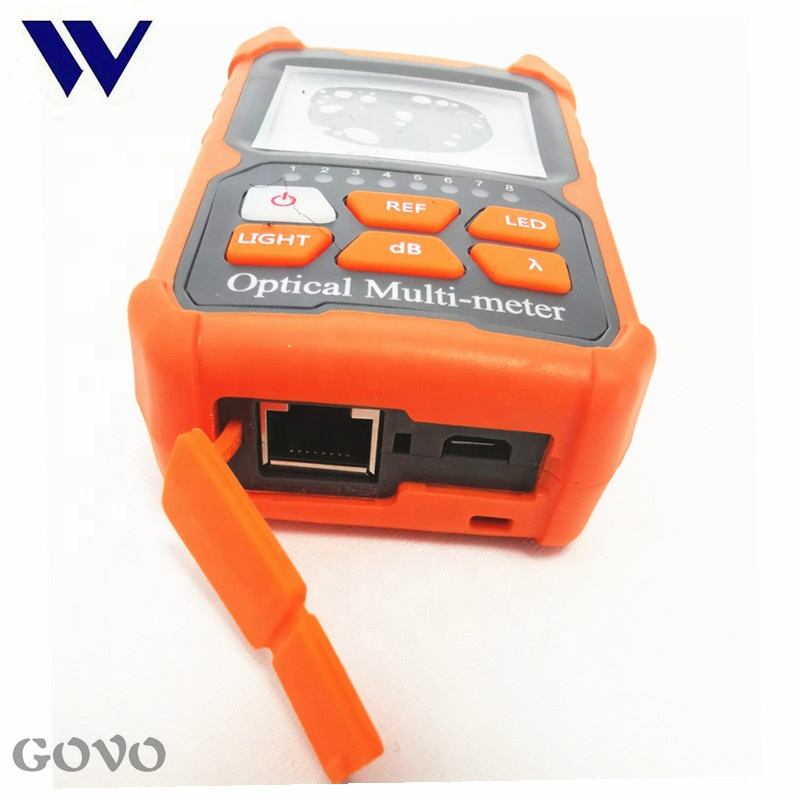 Multimeter Merek Mini Power Optik Meter dan VfL GW3206D RJ45 Network Tester
