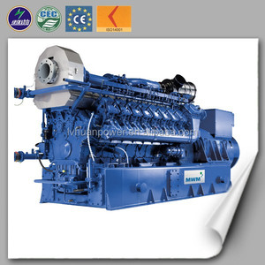 Euro standard world famous engine brand MWM for natural gas generator