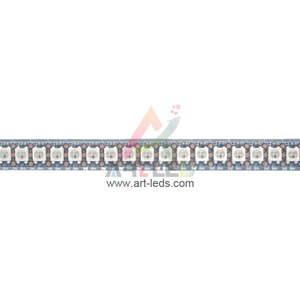 Sk6812 clone of ws2812b 2014 outdoor use high power rgb led bar rigid  1m/roll ws2812 strip digital 144 leds/m