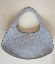 Popular ladies shopping bag tote bag felt bag organizer