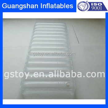 Transparent Pvc Inflatable Water Bed Mattress Bedroom Furniture - Waterbed bedroom furniture