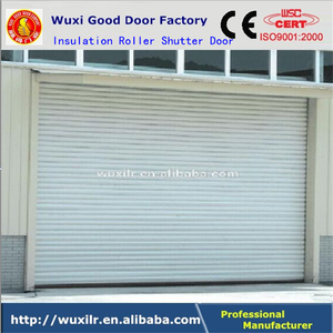 Commercial Galvanized Steel Insulated Security Roller Shutter Doors