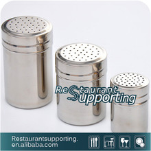 2016 New Design Stainless Steel Salt And Pepper Shakers Spice Jar Set