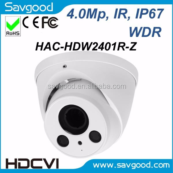 4MP real time 2.7-12mm motorized lens HDCVI IR eyeball camera HAC-HDW2401R-Z