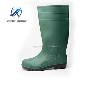 industrial pvc safety boots Anti static Rain boots pvc Insulating working boots steel toe