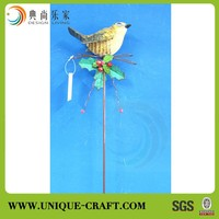 New product china supplier garden stake wholesale blank christmas ornament