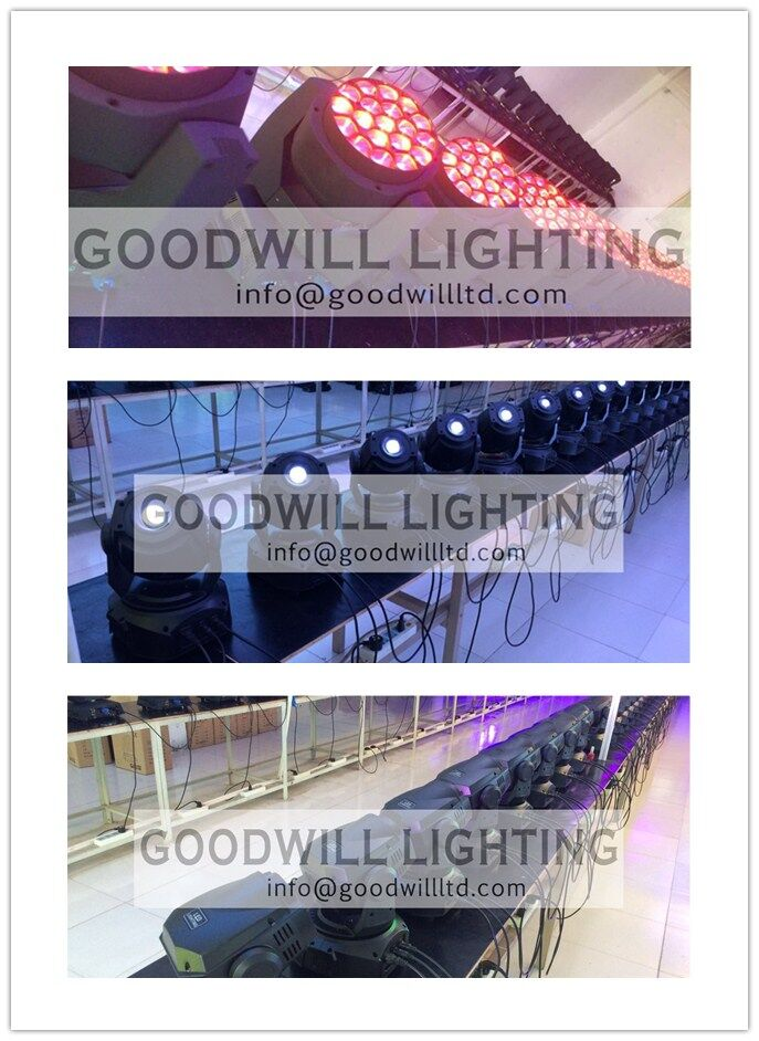 200w ha condotto la luce in movimento della testa multi colori e gobo indoor led moving head spot light