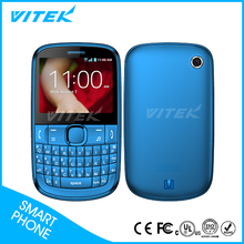 "2.4"" TFT MTK6276 Bluetooth qwerty keypad 3G dual sim phones"