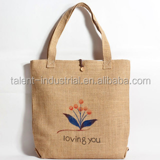 Premium BEACH BAG SHOPPER,jute sand bag
