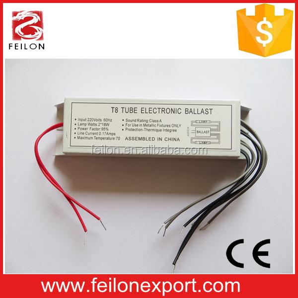 Eclairage, galeries ballast electro T5 2x 6 w aquarium  rapide ELT 26 T