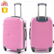ABS Trolley hello kitty luggage bag, 3 piece trolley luggage set, travel luggage set