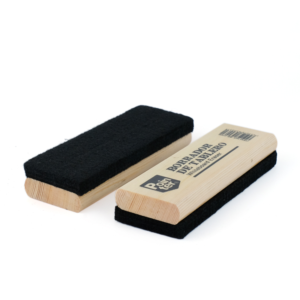 Daily Use Good Quality Dry Erase Wooden Whiteboard Eraser