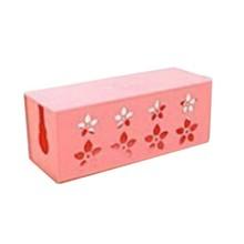 DIY пластиковый ящик для хранения кабелей, настольный органайзер, чехол, держатель для кабелей, безопасная розетка, розетка, контейнер, резно...(Китай)