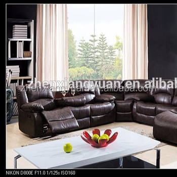 2019 Salon Meubles Sectionnel Canape En Cuir Air Sofa Inclinable En