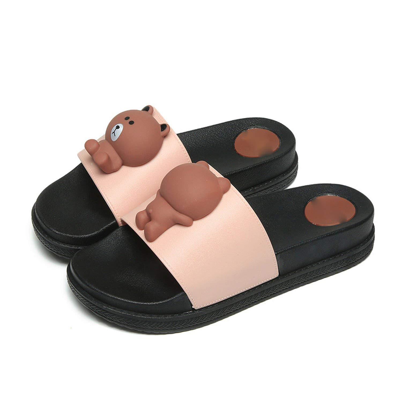 Eric Carl Women Non-Slip Shower Sandals House Bath Slippers
