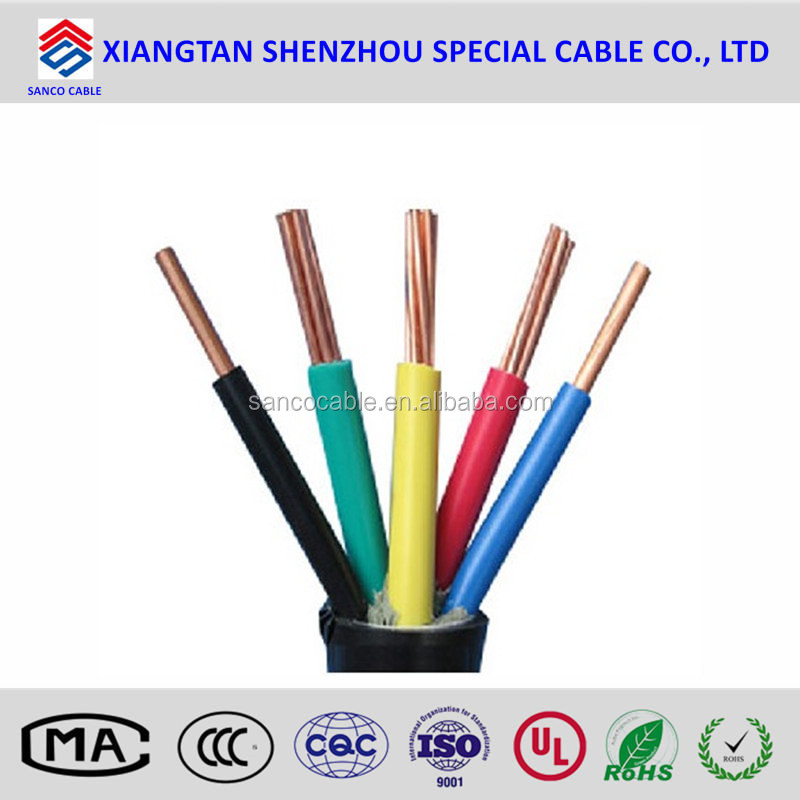 Flame-retardant & Non Flame -retardant PVC insulation power cables