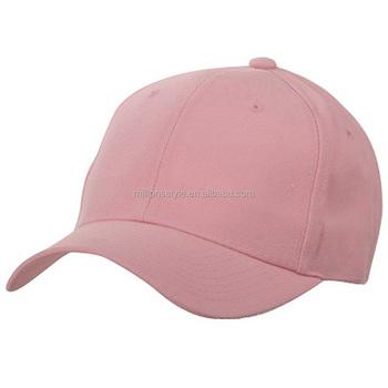 Wholesale Plain Pink Baseball Cap Sport Cap For Ladies And Women ... d9a106f1e70