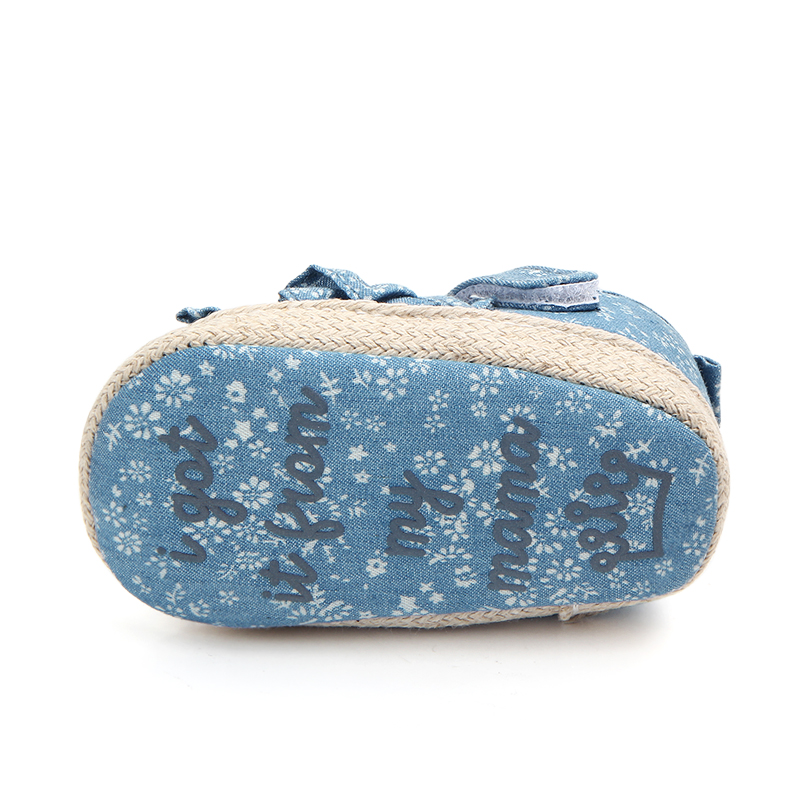 Wholesale soft sole lace baby girl shoes