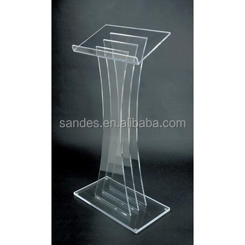 Acrylic Lectern Cheap Floor Acrylic Speaker Stand - Buy Speaker Stand  Spikes,Table Speaker Stand,Cheap Speaker Stands Product on Alibaba com