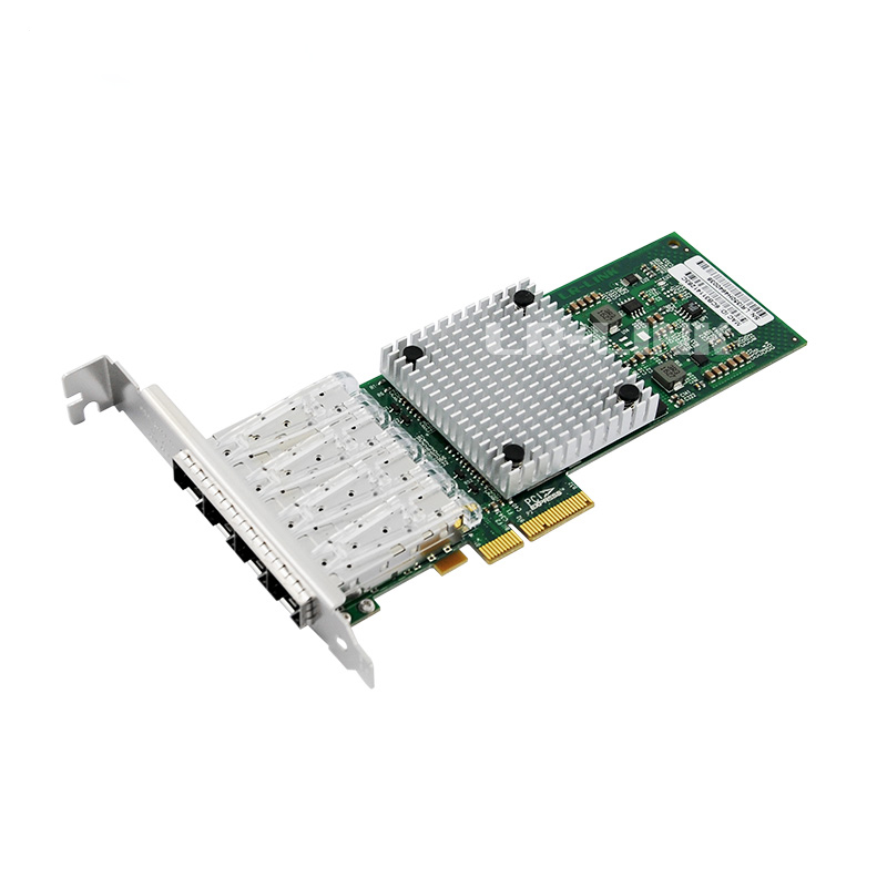 Intel Ethernet Server Adapter I350-F4 - PCI Express x4-4 Port - 1000Base-SX - Internal - Full-Height, Low-Profile