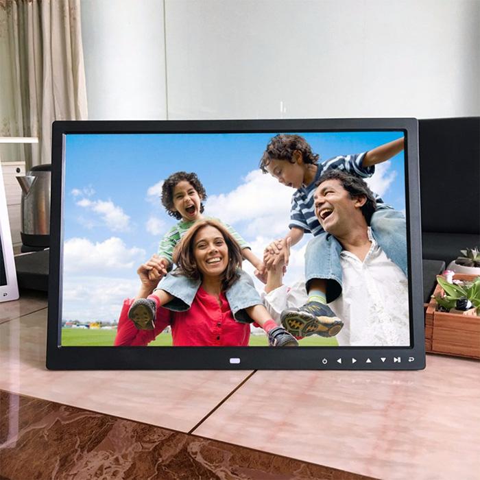 Regalo reproducción de vídeo marco digital 8 pulgadas 16:9 pantalla ...
