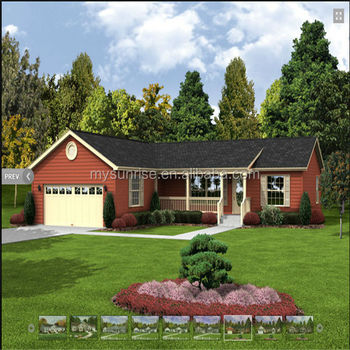 Low cost prefab luxury house granny flat cabins 2 bedroom for 2 bedroom prefab cottage