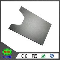 OEM/ODM wholesale cheap credit card holder metal wallet