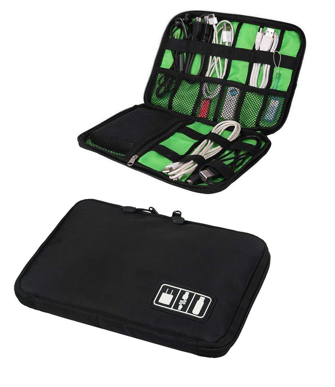 89b80084f122 Get Quotations · Portable Travel Electronics Cable Organizer Bag for Hard  Drives