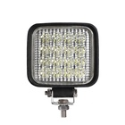 Brightest 12v 24V 48w 5INCH square off road trucksmotorcycle tractor vehicles led work light for car accessories