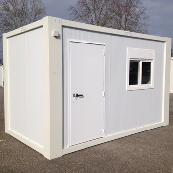 Flat pack Well Priced portable storage units folding bar prefabricated homes