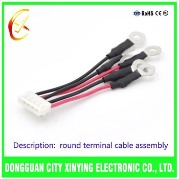 china customized ul007 jst jc25 connector to round terminal wire rh alibaba com Cadillac Wire Harness Cable and Wire Harness