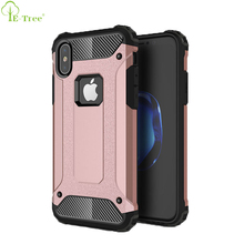 New Premium Shockproof Bumper Hybrid Armor Shell Mobile Phone Case For iPhone X