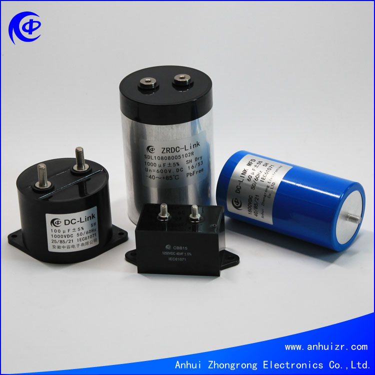 UPS Metallized Film Snubber DC Capacitor Photovoltaic use Capacitor 700V 100UF +/-5%