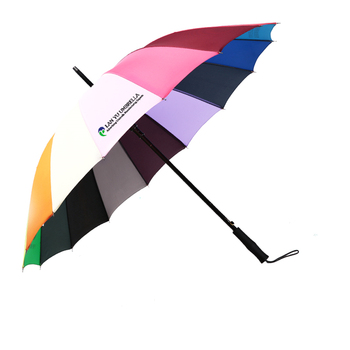 Personal Sun Parasol Lady Rainbow Color Straight Umbrella Buy