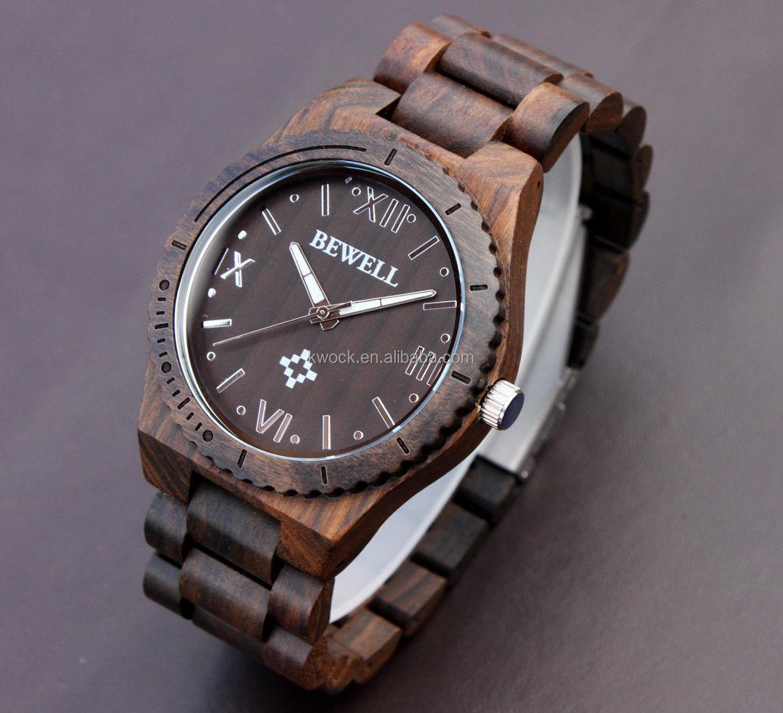 engraved bezel big face men blackwood bling wooden watches for engraved bezel big face men blackwood bling wooden watches for american