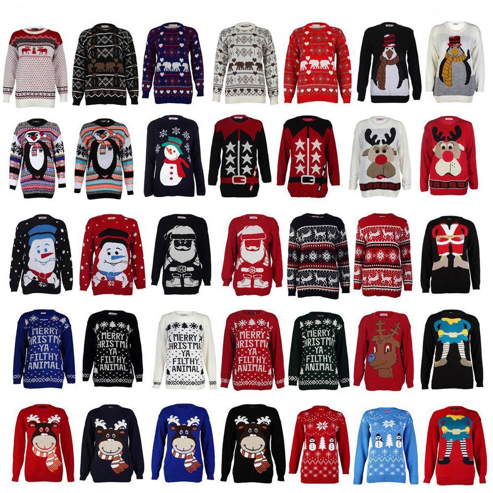 Custom Christmas Sweaters.Pk14a8052 Festival Ugly Christmas Sweater With Led Lights