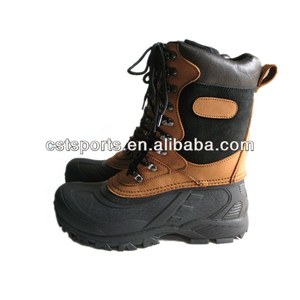 2013 Men's Snow Boots For Hunting , Nubuck Leather Upper , Winter Boots For Men